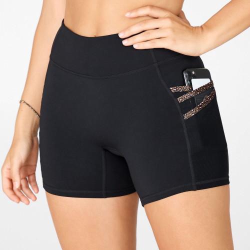 Private Label Workout Shorts Wholesale Hot Yoga Shorts with Pockets-Aktik