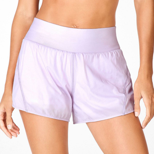 Private Label Quick Dry Wholesale Workout Shorts Women with Liner-Aktik