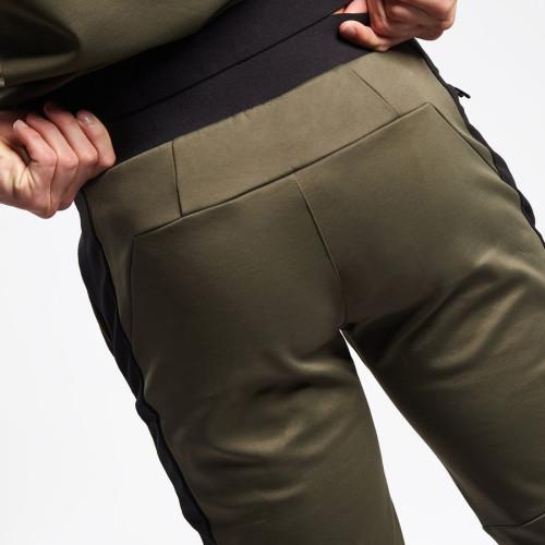Custom Jogger Pants Mens Cotton Wholesale Sweatpants with Pockets-Aktik
