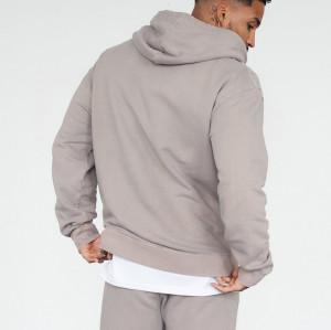 Over Size Wholesale Hoodies for Men Custom Cotton Fleece Pullover Hoodie-Aktik
