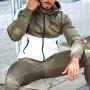 Private Label Wholesale Mens Custom Zip Up Hoodies with Zip Pockets-Aktik