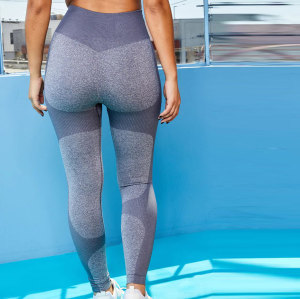 Custom Tummy Control High Waisted Seamless Leggings Wholesale for Women-Aktik