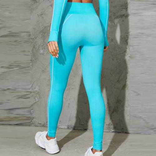 Custom High Waisted Tummy Control Seamless Workout Leggings Wholesale-Aktik