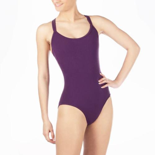 Custom Camisole Dancewear Spaghetti Straps Dance Leotards for Women-Aktik