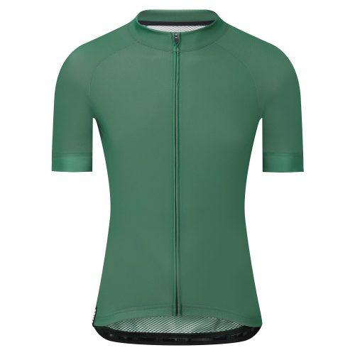 Custom Full Zip Mesh Performance Mens Cycling Clothing with Back Pocket-Aktik