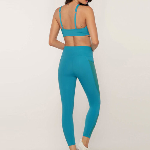 Custom Womens Workout Sets Wholesale Workout Clothes with Mesh Pockets-Aktik