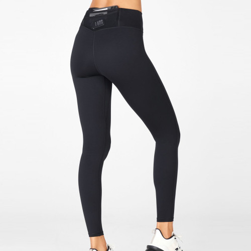 Private Label Womens No Front Seam Wholesale Leggings with Back Pockets-Aktik