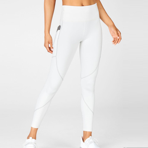 Private Label Fitness Apparel Womens Wholesale Leggings with Side Pockets-Aktik