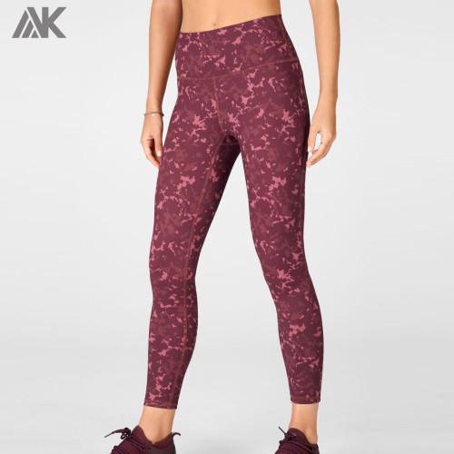 Wholesale Printed Leggings High Waisted Customize Camo Workout Leggings-Aktik