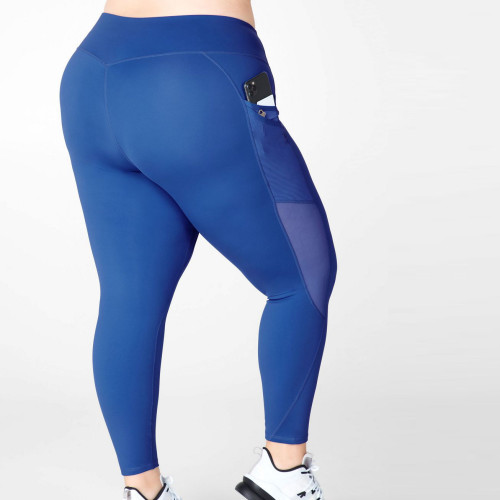 Custom Womens High Waisted Best Plus Size Active Legging with Mesh Pockets-Aktik