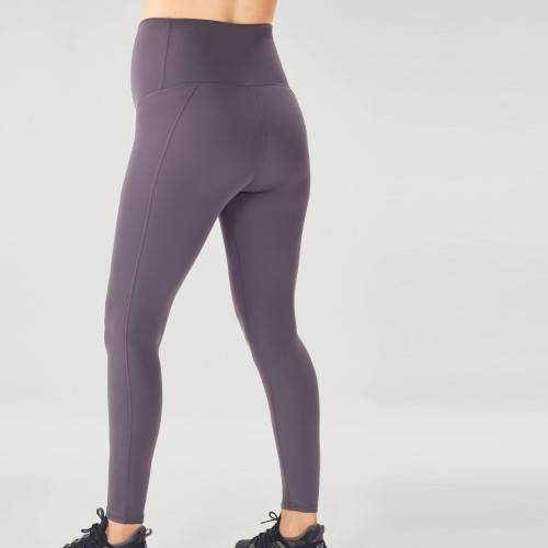 Custom Nylon Spandex High Waisted Best Support Maternity Workout Leggings-Aktik