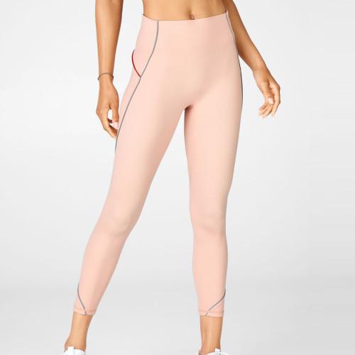 Custom Reflective Leggings No Front Seam Best Running Leggings for Women-Aktik