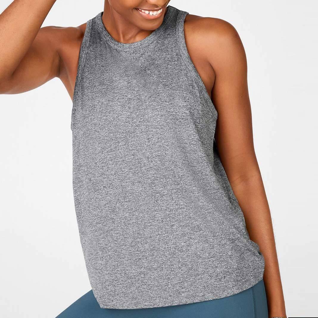 women's high neck tank top