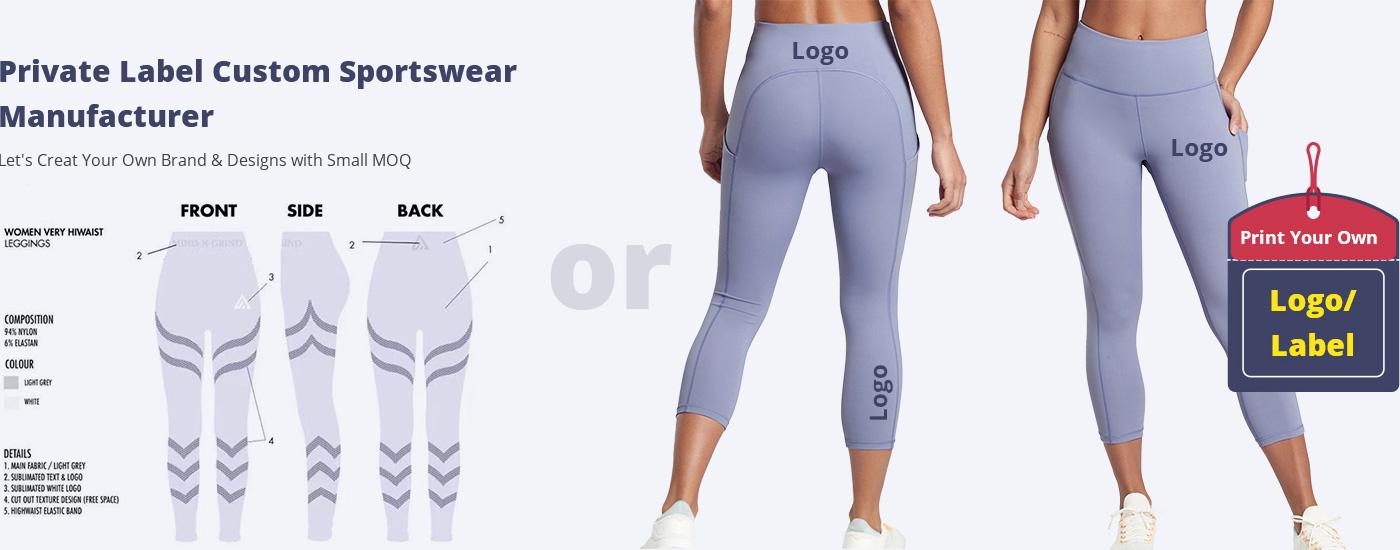 Private label custom sportswear manufacturer