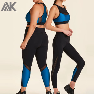 Wholesale Plus Size Activewear Sets Custom Dry Fit Gym Clothes for Women-Aktik
