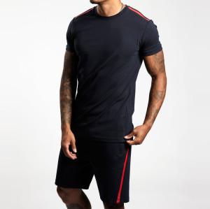 Wholesale Cotton Fleece High Waisted Mens Jogger Shorts with Pockets-Aktik