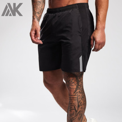 Custom Dry Fit High Waisted Best Gym Shorts for Men with Pockets-Aktik