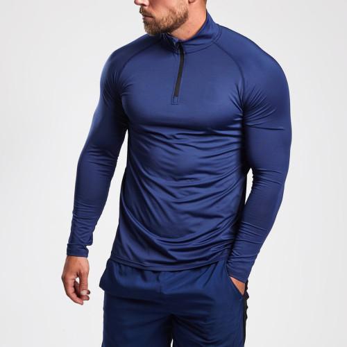 Custom Workout T Shirts Raglan Long Sleeve Bulk Wholesale T Shirts for Men-Aktik