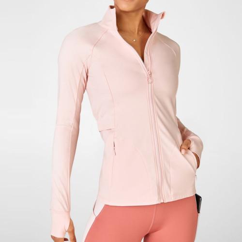Private Label Wholesale Bulk Fitness Jackets Womens Athletic Works Jacket-Aktik