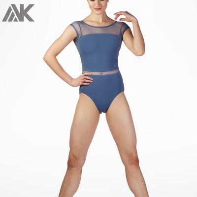 Custom Leotards Dance Open Back Wholesale Dancewear Costumes for Women-Aktik