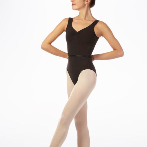 Custom Dancing Clothes Leotards Wholesale V Neck Dance Outfits for Girls-Aktik