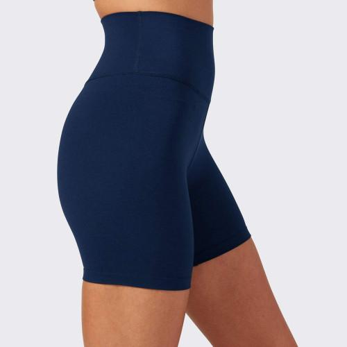 Custom Nylon Spandex Stretch Super High Waisthed Best Bike Shorts Women-Aktik
