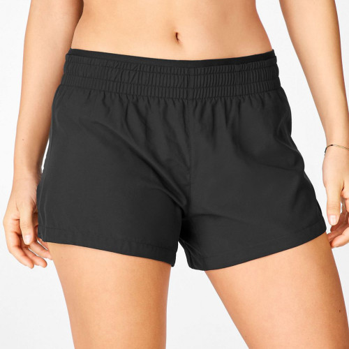 Wholesale Gym Shorts Mid Rise Zip Pockets Best Running Shorts for Women-Aktik