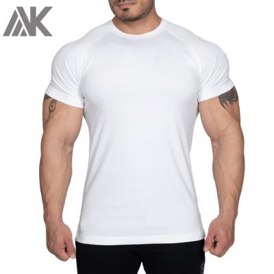 Wholesale T Shirts Bulk Short Sleeve Raglan Mens Cotton Slim Fit T Shirts-Aktik