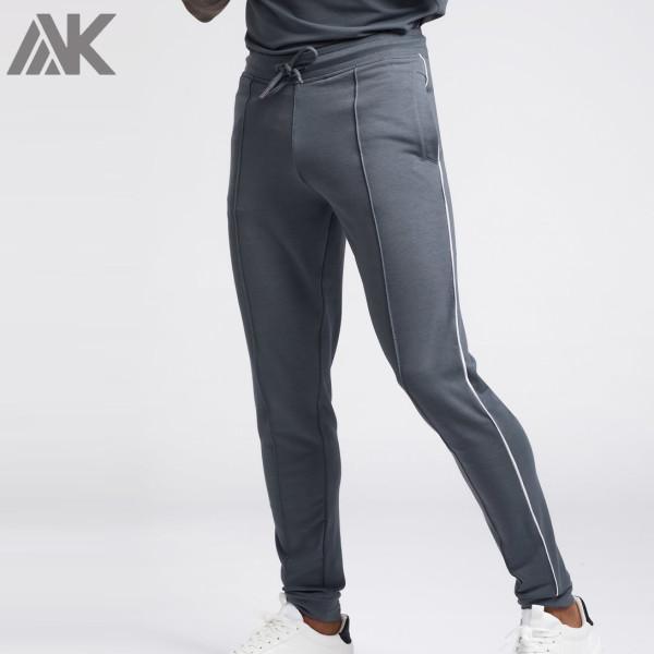 Private Label Wholesale Mens Joggers Slim Fit Cotton Best Mens Sweatpants-Aktik