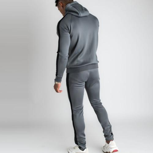 Custom Tracksuit Pants Mens Slim Fit High Waisted Sweatpants with Pockets-Aktik