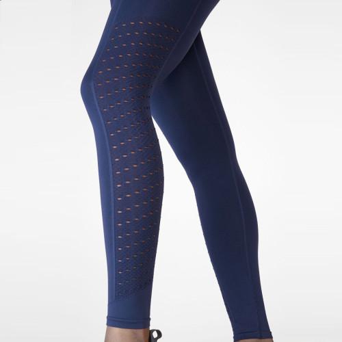 Custom Seamless Yoga Leggings Womens Compression Ribbed Seamless Leggings-Aktik