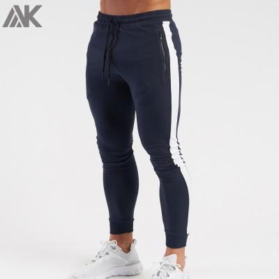 Custom Design Sweatpants Cotton Fleece Wholesale Mens Jogger Scrub Pants-Aktik