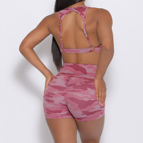 Private Label Custom Women's Fitness Wear Camo Wholesale Fitness Clothing-Aktik