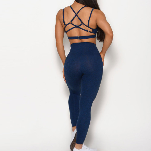 Private Label Custom Womens Gym Wear Wholesale Activewear Leggings Set-Aktik