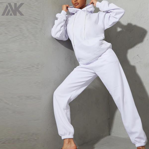 Wholesale Blank Jogger Sets Cotton Oversized Designer Womens Tracksuit Set-Aktik