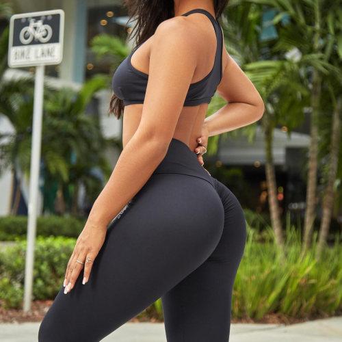 Wholesale Activewear Scruch Butt Leggings Custom Sexy Womens Gym Wear-Aktik