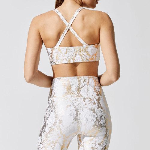 Wholesale Workout Clothes Custom Foli Print Best Yoga Wear for Women-Aktik