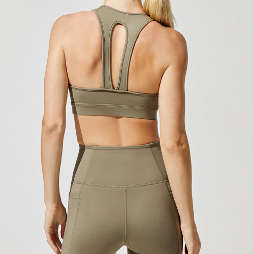 Wholesale Fitness Clothing Womens Matching Yoga Set Activewear Outfit-Aktik