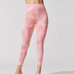 Custom Tie Dye Sports Bra and Yoga Leggings Set Womens Best Activewear-Aktik