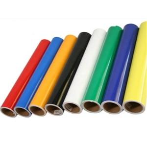 China Factory PVC Color Cut Vinyl Film / Color Stick Vinyl
