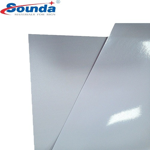 Whole sale High quality Digital Printing 500X300 12*18 Frontlit PVC Flex Banner Material