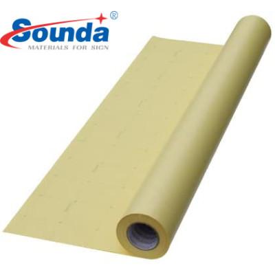 Low Price PVC Advertisement Material Cold Lamination  Film Glossy/Matt
