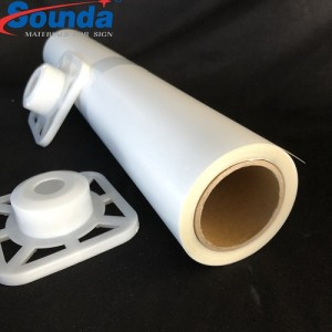 China Supplier SOUNDA 88% Opacity Eco-solvent Backlit Film with free sample