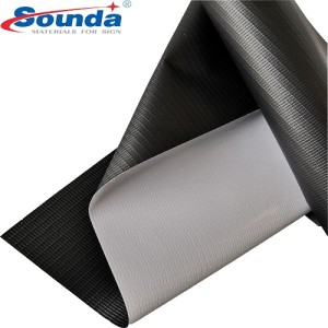 610GSM Glossy /Matte PVC Coated Blockout Flex Banner with free sample