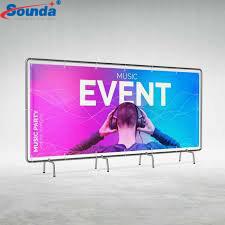 Sounda Cheap Price For Custom  Frontlit/Backlit pvc flex banner printing