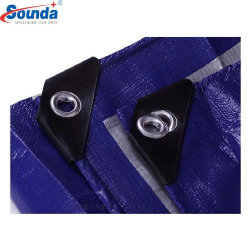 Custom Light Weight PE Tarpaulin Easy to Fold, 120GSM