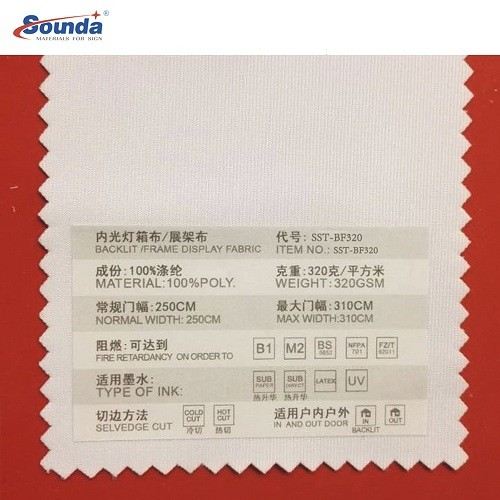 Sublimation Printing Polyester  Canvas or cotton Canvas Sign  Eyelet Fabric