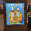 Transparent PET Film PVC Flex Banner For Shop Advertising