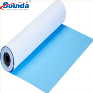 Factory Price  Coated Printing Water-resistant Blue Back Paper