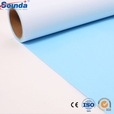 Digital Printing Blue Back Paper for Advertising